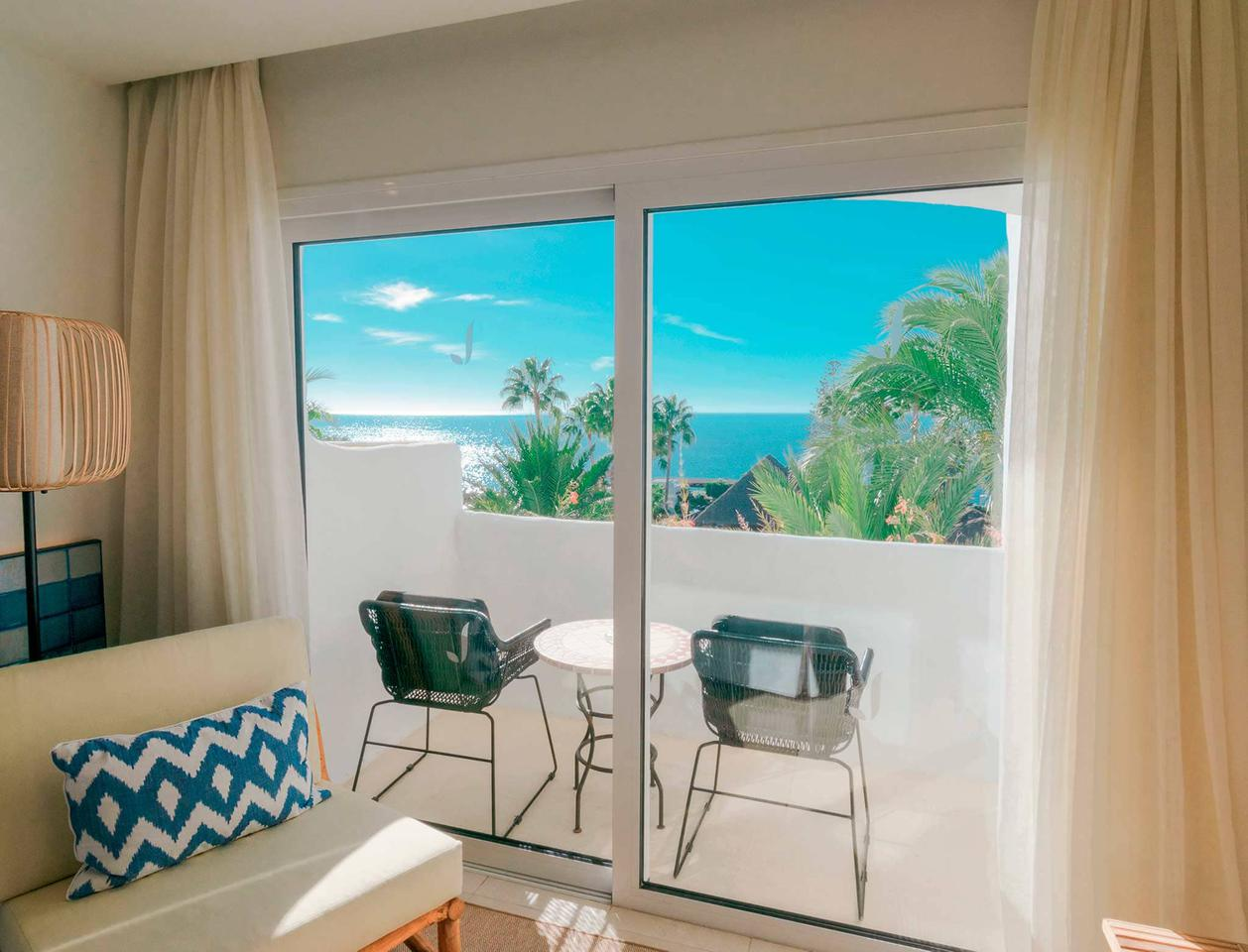 Double Room With Ocean Views Hotel Jardín Tropical