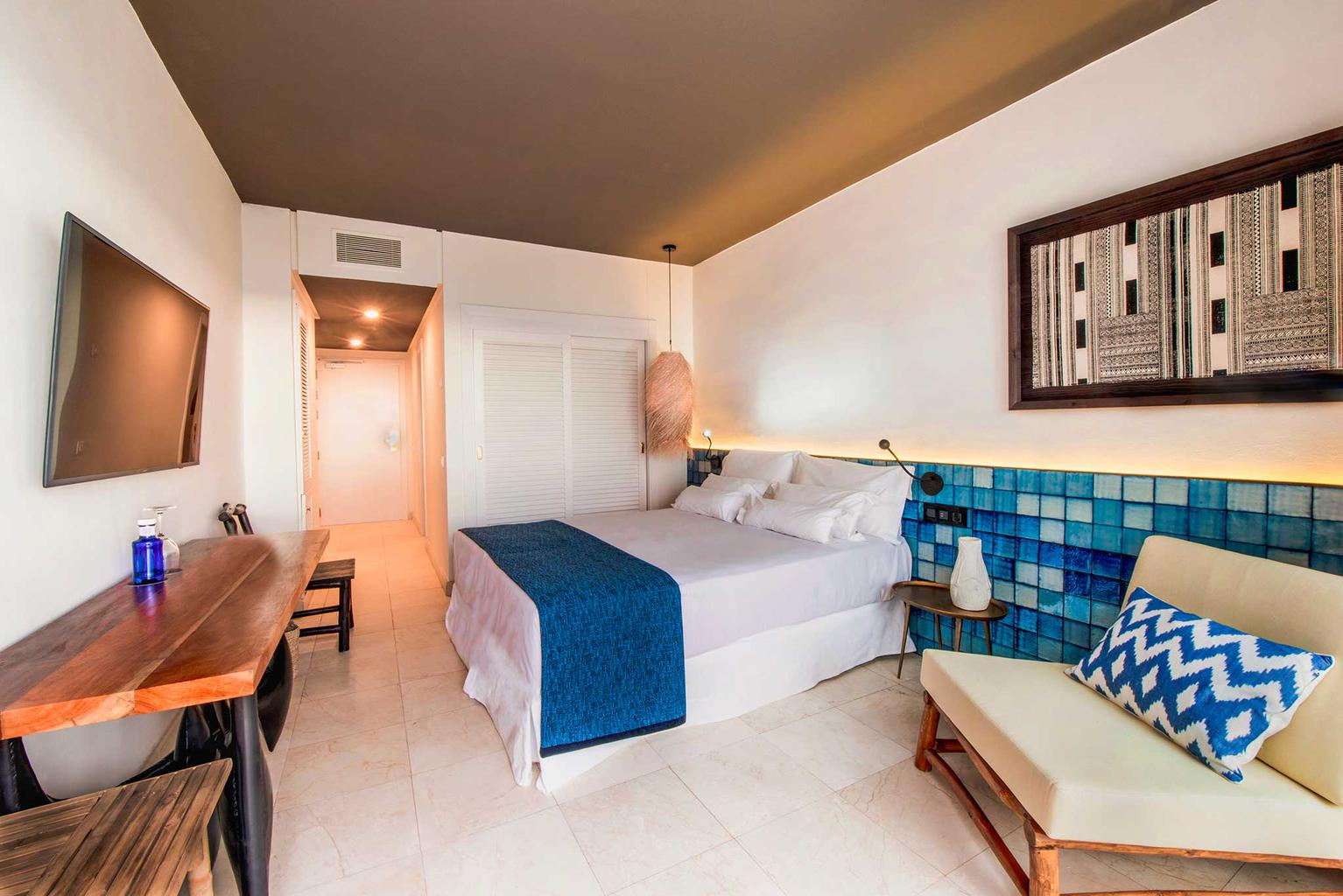 Double rooms with pool view hotel jardín tropical tenerife