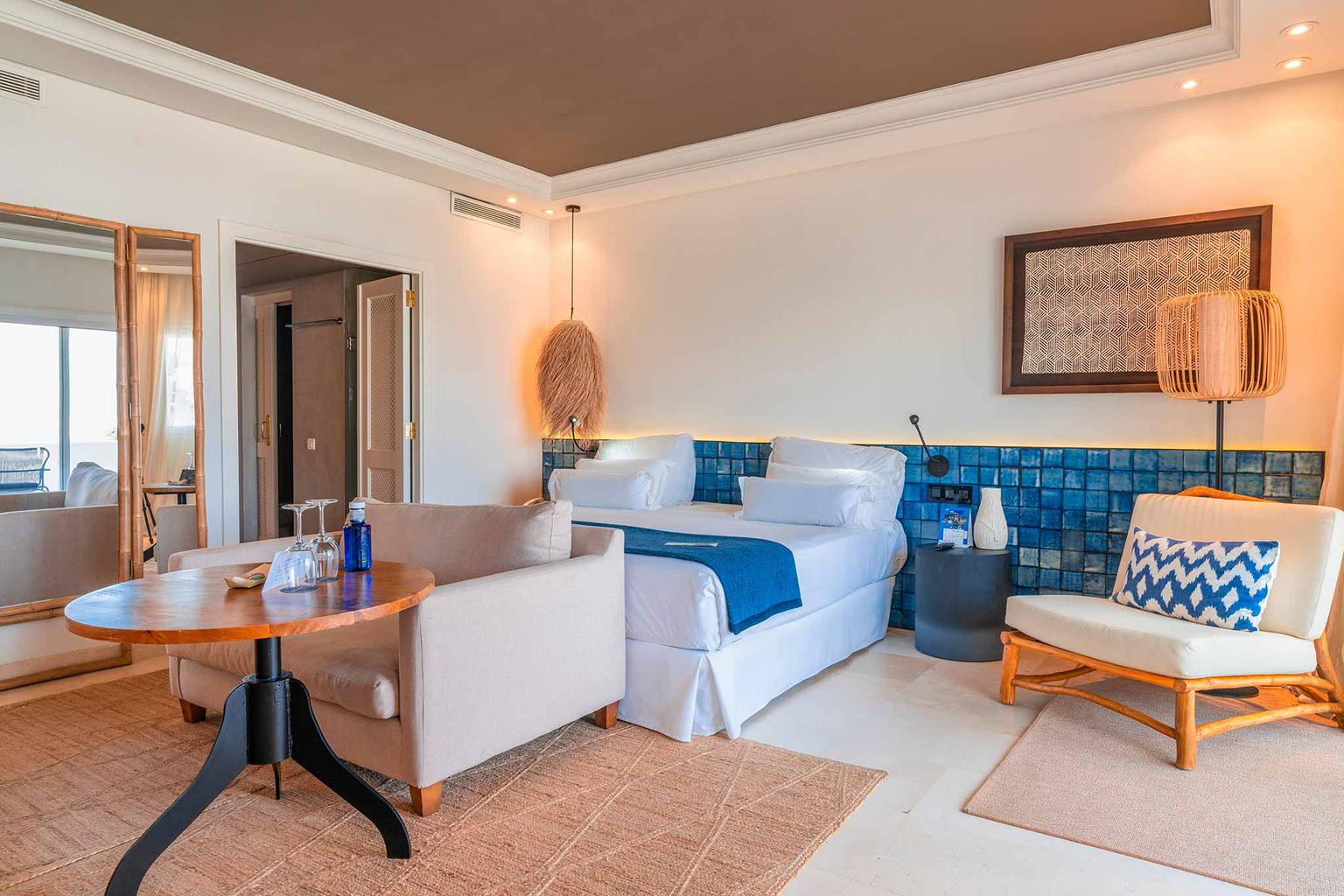 Club junior suite with ocean views hotel jardín tropical tenerife